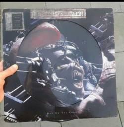 Disco Lp Iron Maiden | Man On The Edge | 1995 Uk