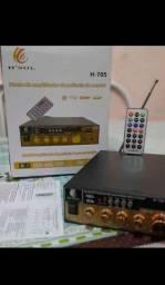 Amplificador bluetooth 500 watt