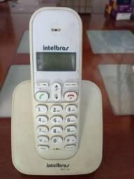 Telefones aparelhos sem fio e teclado