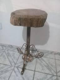 Mesa de canto de jaqueira frete gratis