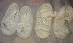 4 Sandalinhas de bebe