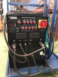 Aparelho MaxxiTig 315p Ac/Dc refrigerado