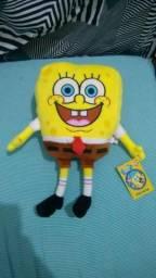Pelúcia Bob esponja original Nickelodeon