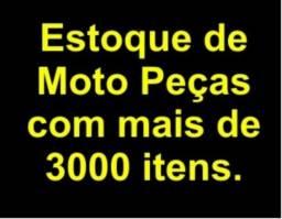Estoque de Moto Peças com 3000 itens