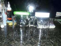 Potes de vidro 550 ml