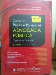 CURSO DE PEÇAS E PARECERES - ADVOCACIA PÚBLICA - TEORIA E PRÁTICA (2018)