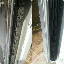 Fazemos limpeza e manutenção de ar