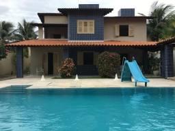 LS:Cumbuco|504m² De Terreno 268m² De Área Construída 5 Suítes Climatizada,Piscina,6 Vagas