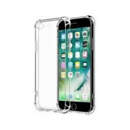 Capa Transparente Air Anti Impacto iPhone 6/7/8Plus/X/XsMax/Xr Antichoque TPU Silicone