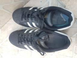 Tênis Adidas super classic preto 41