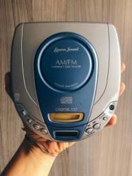 Cd Player Programável Com Rádio Am/fm Estereofônico Lenoxx