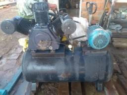 Compressor de ar 40 pés, motor 10 cv