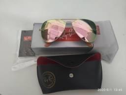Vendo óculos Ray Ban rosé modelo aviador comprar usado  Campinas