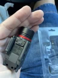 Lanterna Laser todo tipo trilho Picatinny