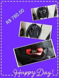 Capacetes e jaquetas tops