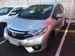 Honda FIT Ex Automático 2015 Prata - 2015