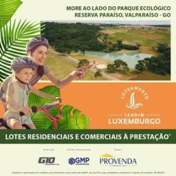 Lotes financiados em Valparaíso de Goiás
