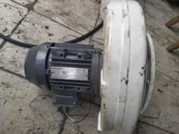 Motor ventuinha soprador industrial 1.5cv