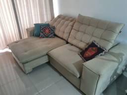Sofá retrátil e reclinável Bella Design