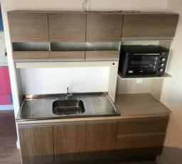 Armário de cozinha com pia + torneira