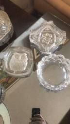 Cinzeiros em cristal Antiguidade