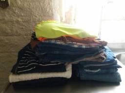 Desapegando! Lote com 24 peças de roupas em excelente estado e pouco usadas!