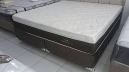 """::Conjunto cama Box Colchao Personalle Queen Size (158x198) A Pronta Entrega"""""""