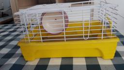 1 Gaiola pequena amarela - para transporte