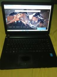 Notebook hp i3 5005U /4 gb RAM /500 HD Tela Slim 14