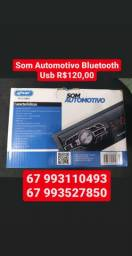 Som de carro Bluetooth Usb fm auxiliar
