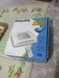 DVD player Philips funcionando perfeitamente
