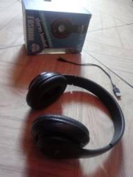Vendo um fone de ouvido sem fio,bluetooth.