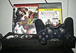 PS3 + 2 JOGOS PLAYSTATION