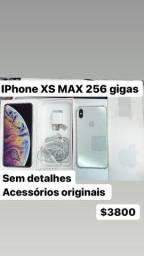IPhone XS Max 256 sem detalhes bateria 91