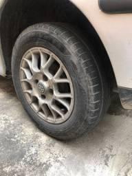 Aros 13 com pneus