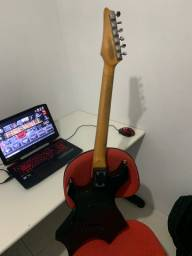 Guitarra Golden Warlock Gmap556 Bk
