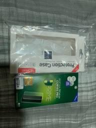 Kit case e película verso Iphone XS Max