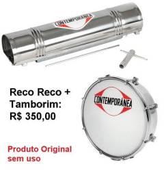 Reco Reco e Tamborim Contemporânea R$350,00 (os dois)