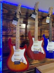 Guitarra strimberg sts100 stratocaster em promoção
