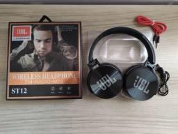 Headphone Bluetooth JBL - Pega Cartão SD Também