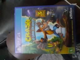 Crash 1,2 e 3 remasterizado para PS4 Mídia física