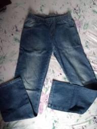 Calças Jeans TAM 10 (2 peças)