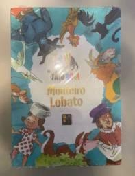 Box Monteiro Lobato 5 Volumes - Coleção Tatu Bola - Pé da letra NOVO LACRADO