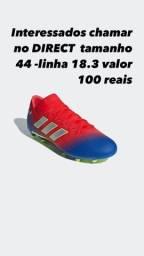 Chuteira nemezzis Adidas original