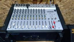 Mesa de som Staner 12 canais mais potência OP5000 vendo ou troco