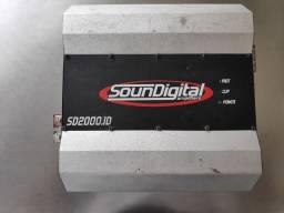 Módulo soundigital sd2000.1 2mil watts rms