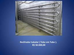 Resfriador tubular ( Tubo em Tubo )