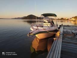 Oportunidade, lancha para pesca ou passeio fishing 22 wellcrafft casco de fibra