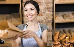 Balconista de padaria com experiência