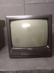 TV PHILIPS 20 polegadas ( não tem saída Av )